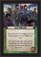 Torg Eternity - Pan-Pacifica Cosm Card - Outbreak
