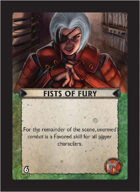 Torg Eternity - Pan-Pacifica Cosm Card - Fists of Fury