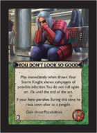 Torg Eternity - Pan-Pacifica Cosm Card - You Don't Look so Good