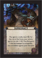 Torg Eternity - Tharkold Cosm Card - Supremacy