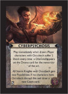 Torg Eternity - Tharkold Cosm Card - Cyberpsychosis