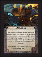 Torg Eternity - Tharkold Cosm Card - Enraged