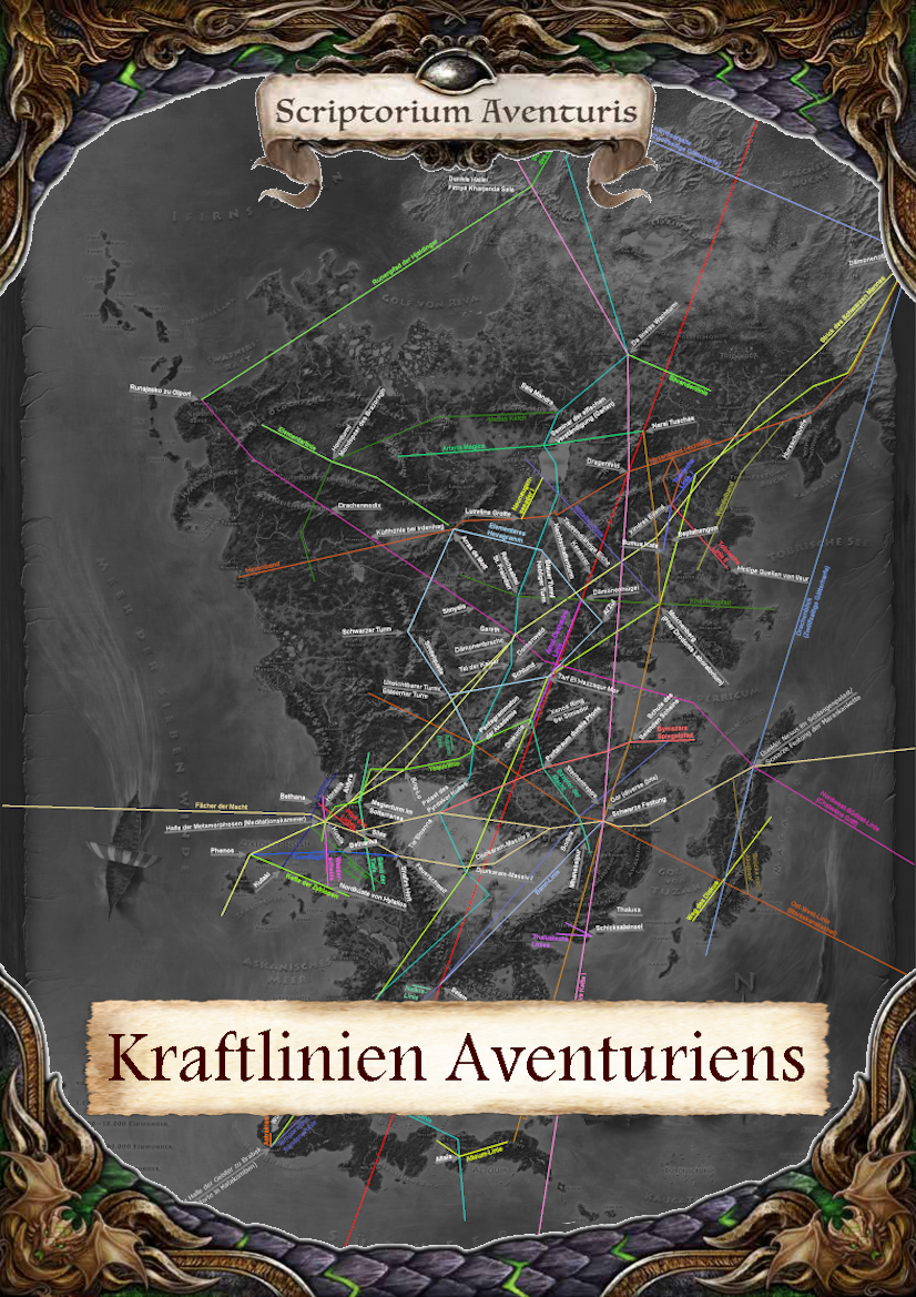 Kraftlinien Aventuriens