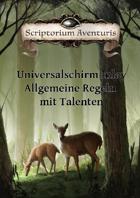 Universalschirm Inlay: Allg. Regeln mit Talenten