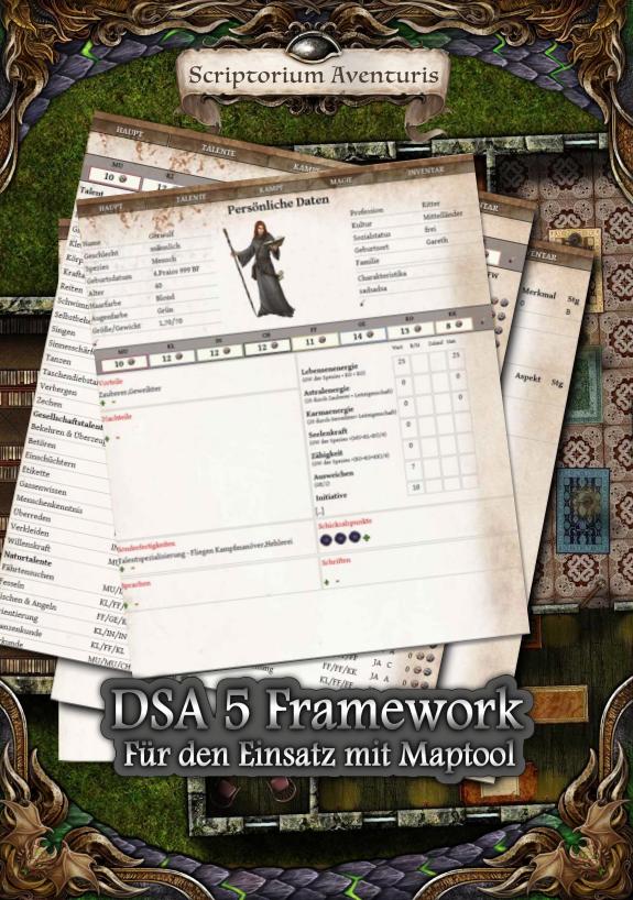 Maptool Framework für DSA 5