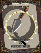 Goldener Reif & Silberne Klinge