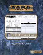 Torg Eternity: Form-Fillable Character Sheet