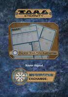 Character Sheet / Feuille de Personnage