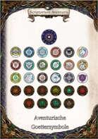 Aventurische Göttersymbole (Grafiken)