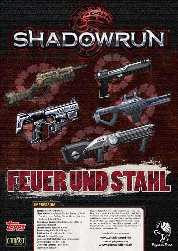 Shadowrun: Feuer und Stahl