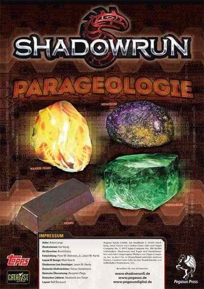 Shadowrun: Parageologie