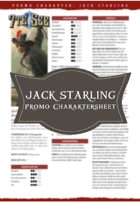 7te See JACK STARLING Promo Charakter