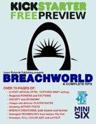 Breachworld RPG Kickstarter Preview
