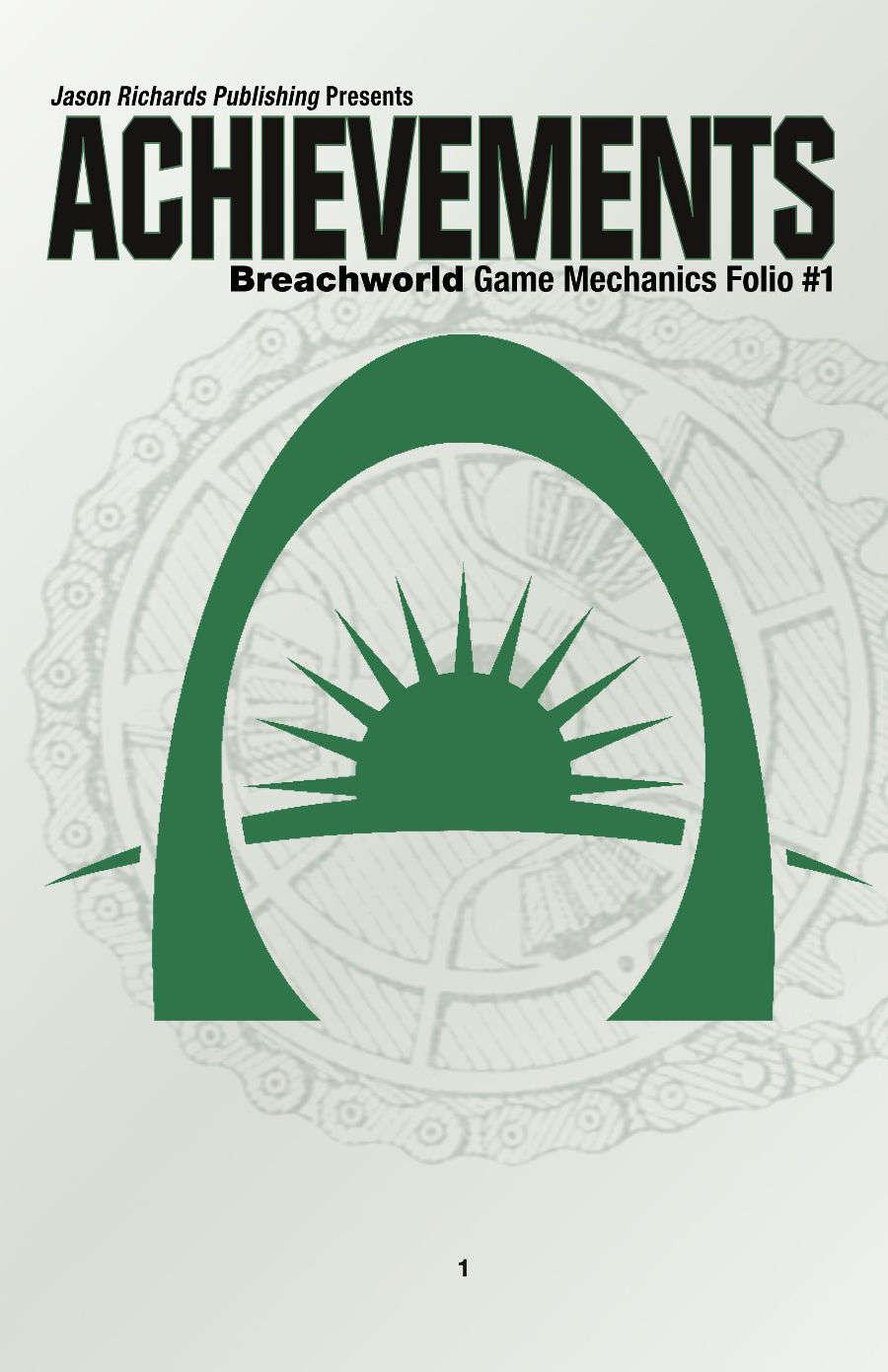Breachworld Game Mechanics Folio #1 - Achievements