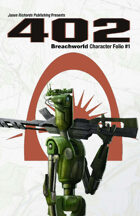 Breachworld Character Folio #1 - 402