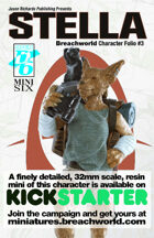 Breachworld Character Folio #3 - Stella