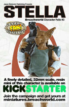 Breachworld Character Folio #3 - Stella (Savage Worlds)