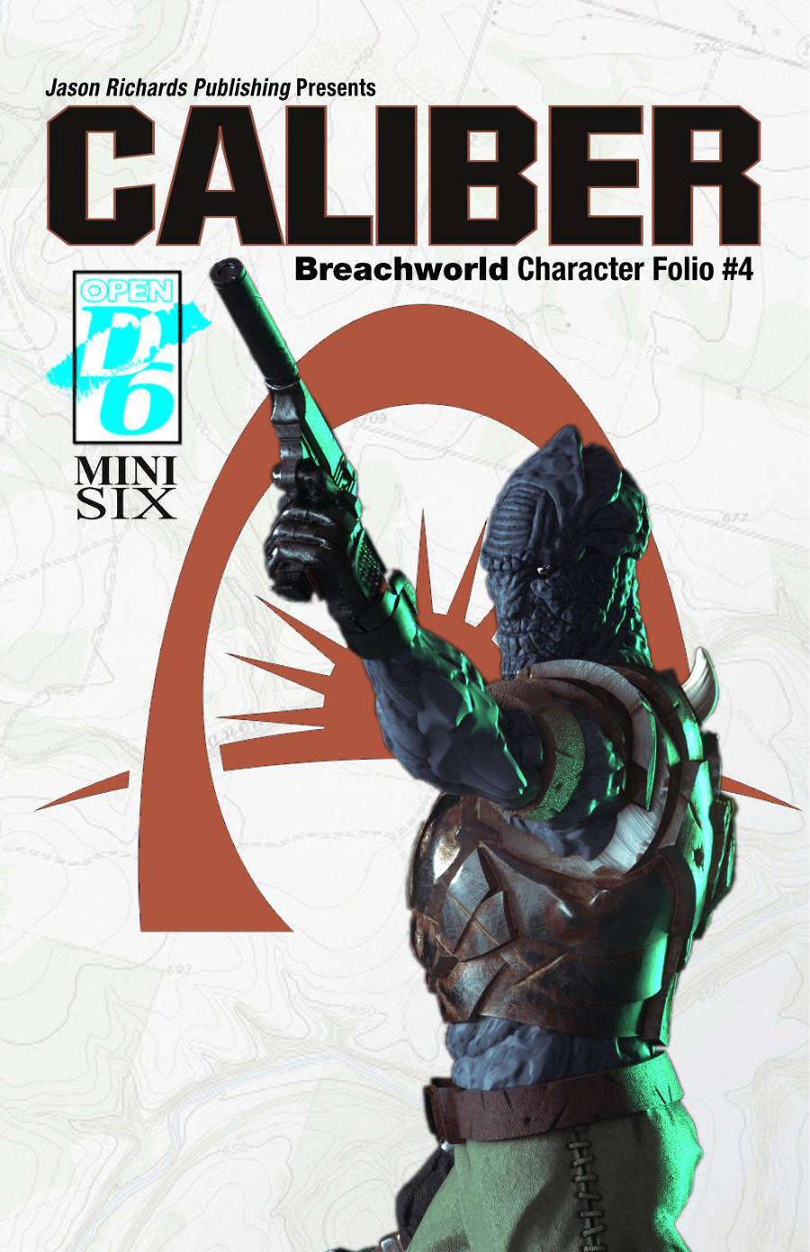 Breachworld Character Folio #4 - Caliber