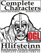[d20] Complete Characters #1 - Hlifsteinn