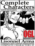 [d20] Complete Characters #5 - Lisonnel Arma