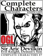 [d20] Complete Characters #7 - Sir Aric Devilkin