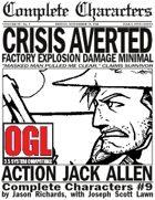 [d20] Complete Characters #9 - Action Jack Allen