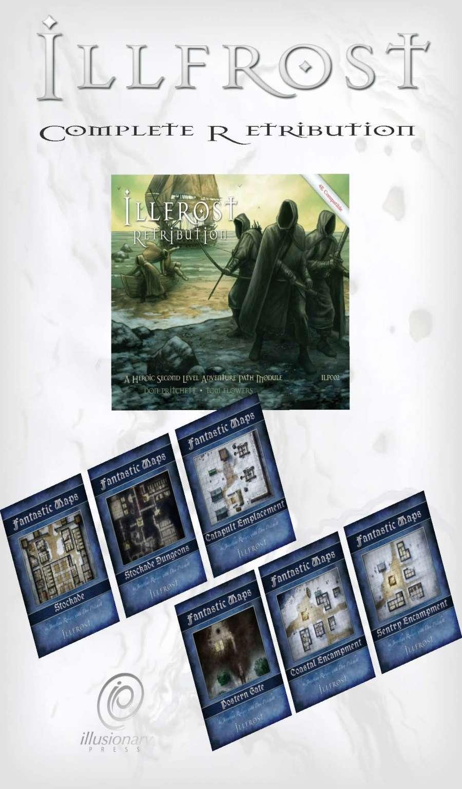 Illfrost Complete Retribution Pack (4E) [BUNDLE]