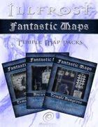 Fantastic Maps: Illfrost Temple Map Pack Set [BUNDLE]