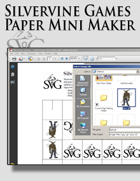Silvervine Games Paper Mini Maker