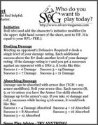Silvervine Games - New Player Cheat Sheet