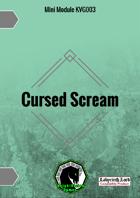KVG003 Cursed Scream