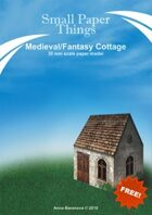 30mm Medieval Cottage