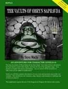Vaults of Obryn Sapravda 4E