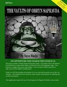 Vaults of Obryn Sapravda PFRPG