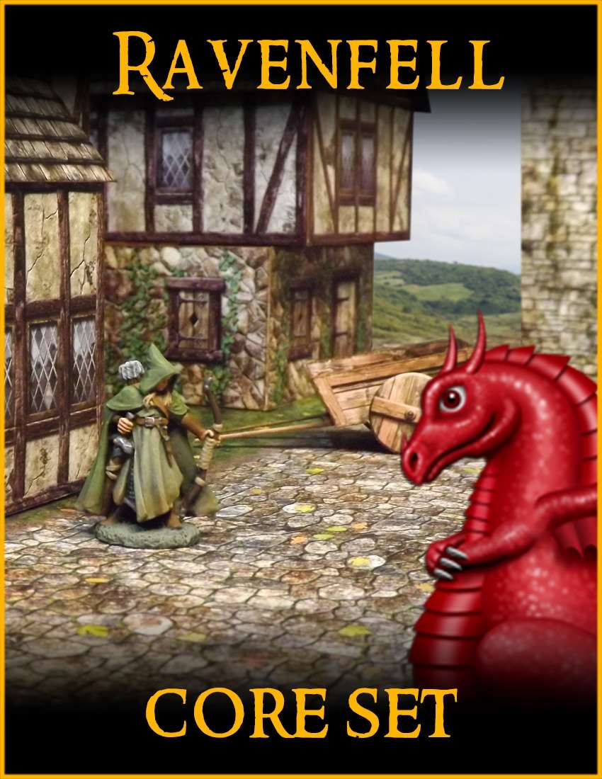 RAVENFELL: Core Set - Fat Dragon Games   RAVENFELL   RAVENFELL    DriveThruRPG com