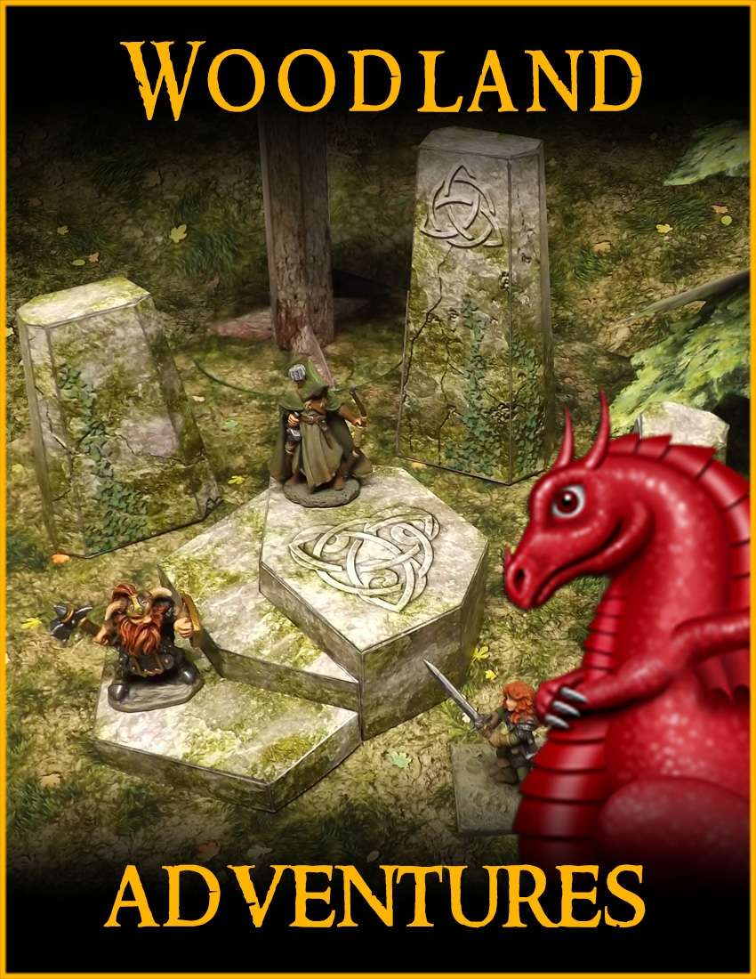 Woodland Adventures - Fat Dragon Games   Wilderness Adventures   Wilderness  Adventures   DriveThruRPG com