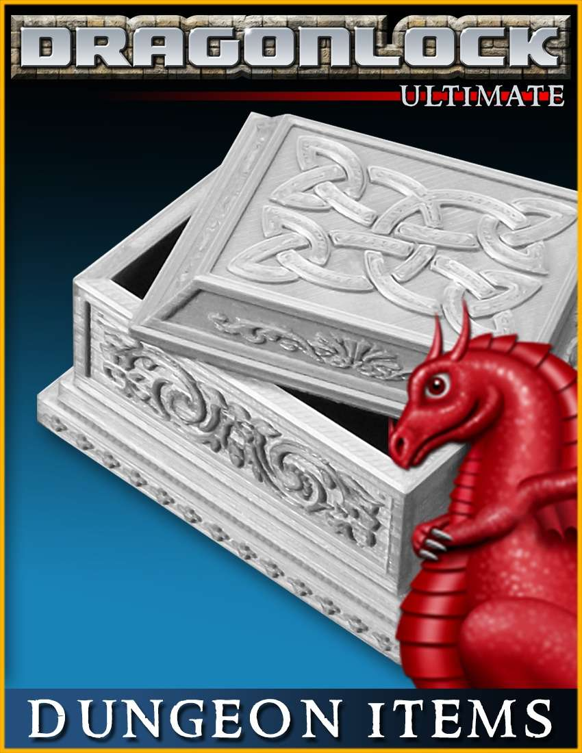 DRAGONLOCK Ultimate: Dungeon Items 1