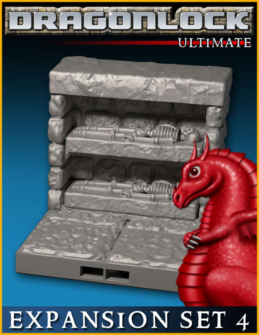 DRAGONLOCK Ultimate: Dungeon Expansion Set 4