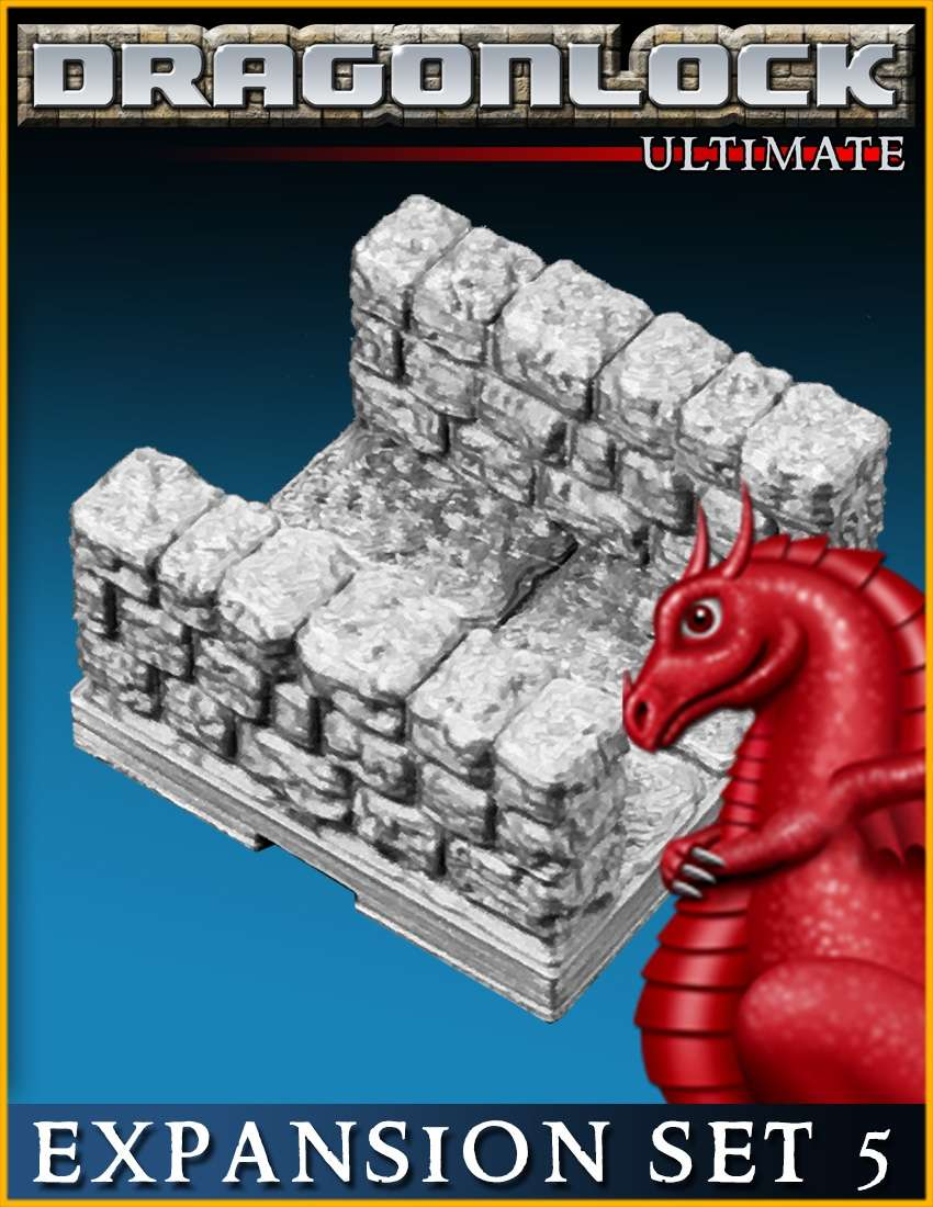 DRAGONLOCK Ultimate: Dungeon Expansion Set 5