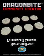 Landscape & Terrain Miniature Bases