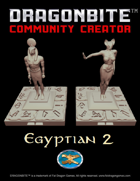 Egyptian 2 - Half Sized and Statues