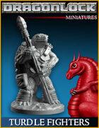 DRAGONLOCK Miniatures: Turdle Fighters