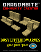 Half Sized Dwarven Walls and Floor