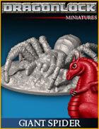DRAGONLOCK Miniatures: Giant Spider