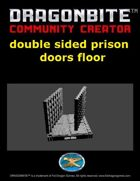 double edge prison door floor