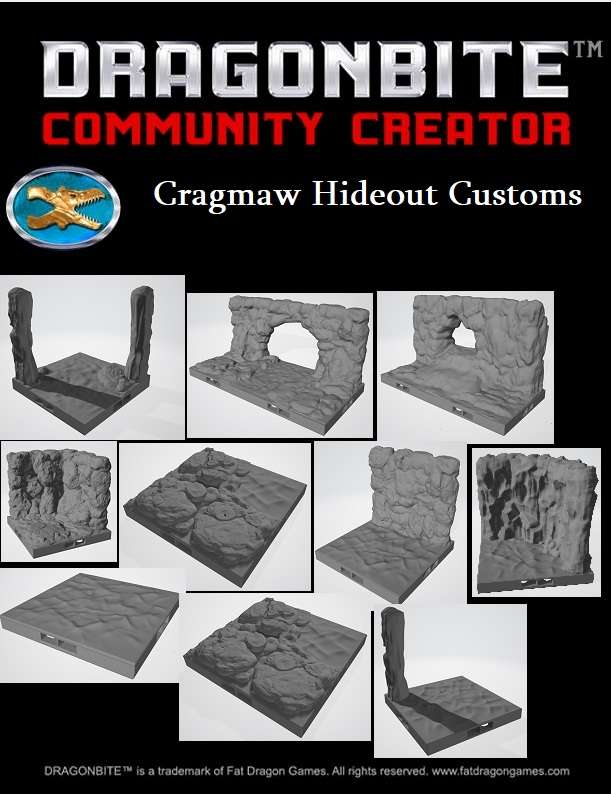 picture regarding Cragmaw Hideout Printable Map named STL (3D Design)