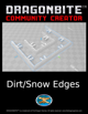 Dirt/Snow Sloped Edges