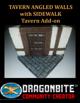 Tavern Angled Walls with Sidewalk