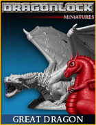 DRAGONLOCK Miniatures: Great Dragon