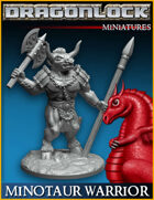 DRAGONLOCK Miniatures: Minotaur Warrior